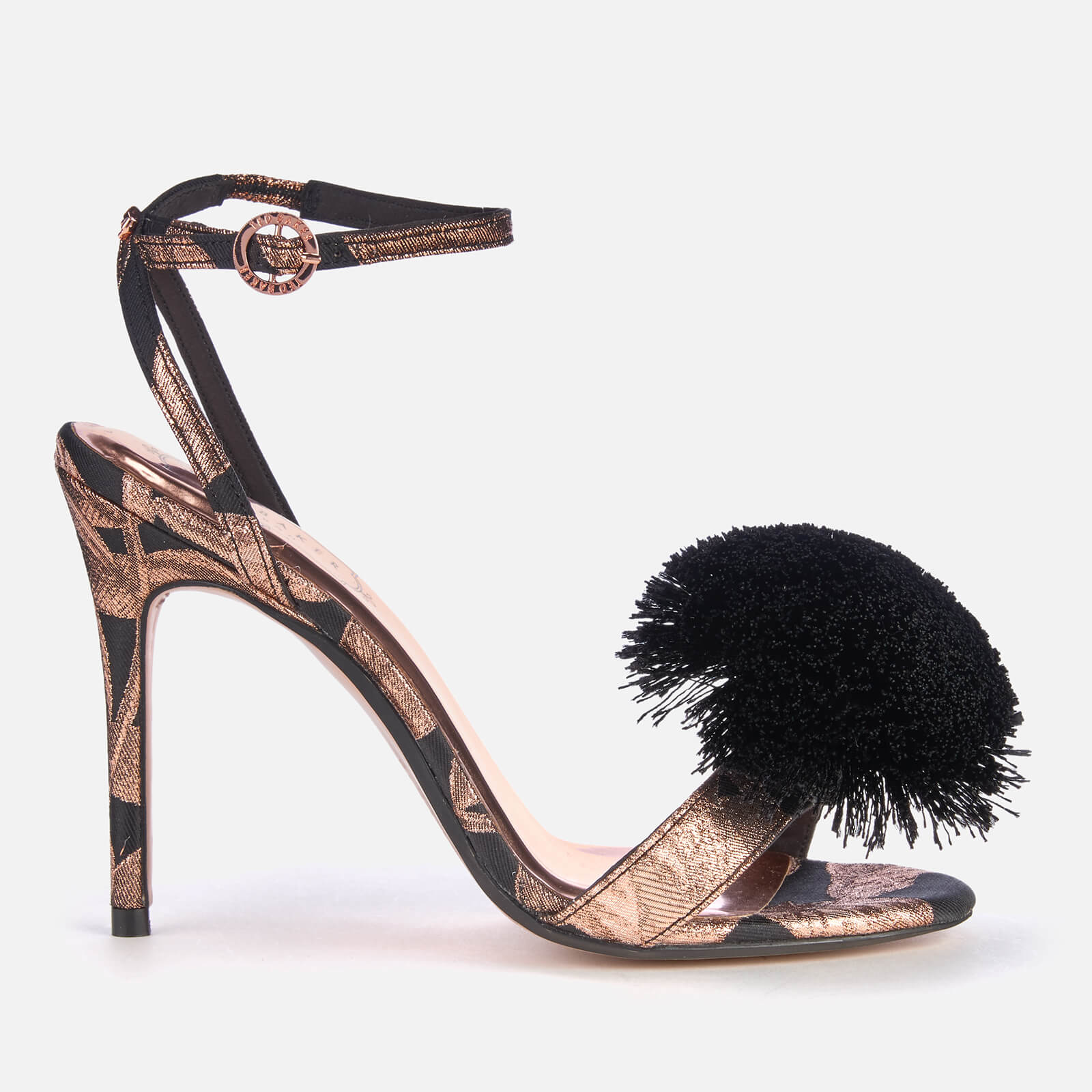 b31cd127c84 Ted Baker Women s Elynie Jacquard Barely There Heeled Sandals ...