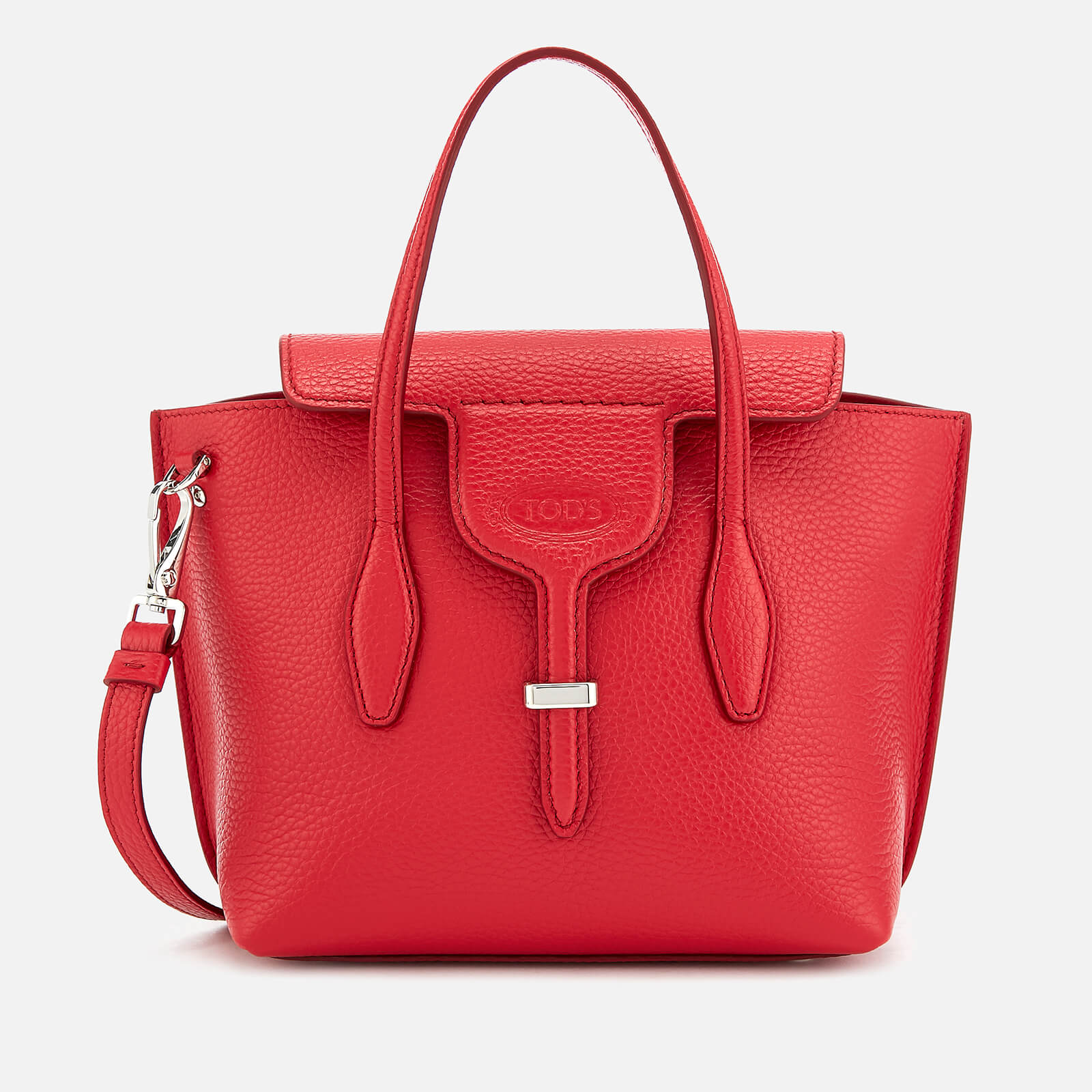 Tod s Women s Mini Tote Bag - Red - Free UK Delivery over £50 4408c2cec4