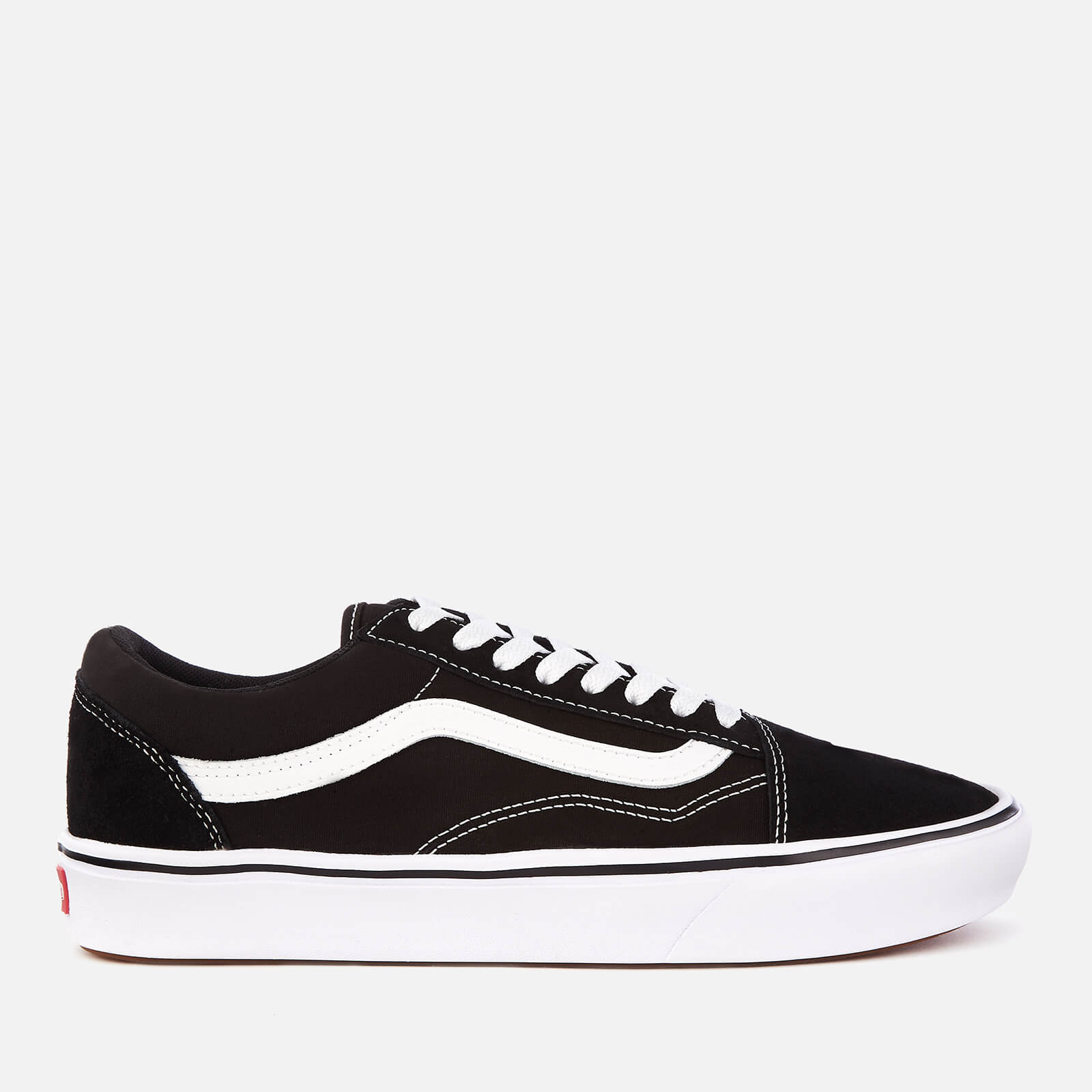 Vans ComfyCush Classic Old Skool Trainers - Black True White  c86607a27