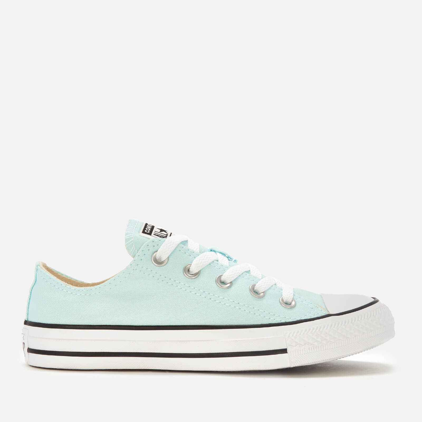 47b2ef88399d Converse Women s Chuck Taylor All Star Ox Trainers - Teal Tint ...