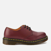 Dr. Martens Originals 1461 3-Eye Smooth Leather Gibson Shoes - Cherry Red