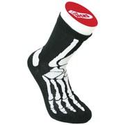 Silly Socks - Socken mit Skelettaufdruck