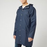 RAINS Men's Long Jacket - Blue
