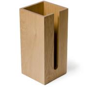 Wireworks Mezza Natural Oak Toilet Roll Box