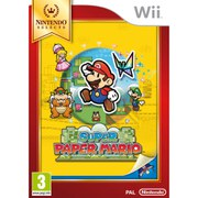 Wii Nintendo Selects Super Paper Mario