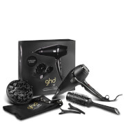 ghd Air Kit (ghd Diffuser and Size 3 Ceramic Brush) (Worth £137.45)