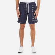 BOSS Hugo Boss Men's Lobster BM Swim Shorts - Navy