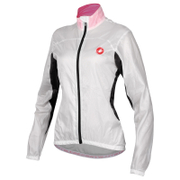 Castelli Women's Velo Windbreaker Jacket - White