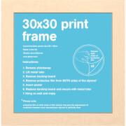 Beech Frame - 30 x 30cm