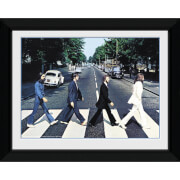 "The Beatles Abbey Road - 8"""" x 6"""" Framed Photographic"
