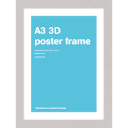 Silver Frame A3 Lenticular
