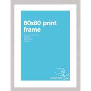 Silver frame 60 x 80 cm Print