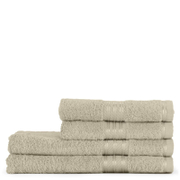 Restmor 100% Egyptian Cotton 4 Piece Supreme Towel Bale Set (500gsm) - Latte
