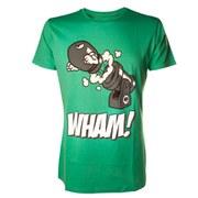 Bullet Bill WHAM - T-Shirt (Green)
