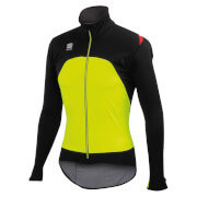 Sportful Fiandre Light Windstopper Jacket - Yellow Fluo/Black