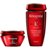 Kérastase Soleil Bain (250 ml) and Masque UV Defense (200 ml) Duo