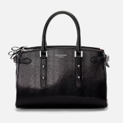 Aspinal of London Women's Brook Street Bag - Black Lizard