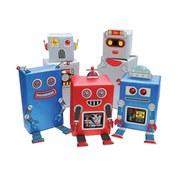 Papier Cadeau Robots -Transformez vos cadeaux en robots !