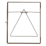 "Nkuku Danta Glass Frame - Antique Copper - Portrait 8"" x 10"" (20 x 25cm)"