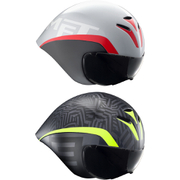 Met Drone Helmet - White/Black/Red