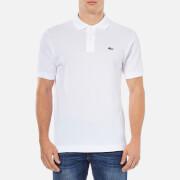 Lacoste Men's Classic Fit Pique Polo Shirt - White