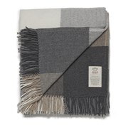 Avoca Cashmere Rome Donegal Throw - Grey (142cm x 183cm)