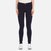 J Brand Women's Maria High Rise Indigo Skinny Jeans - Bluebird