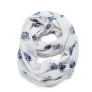 Vero Moda Women's Yin Tube Scarf - Snow White
