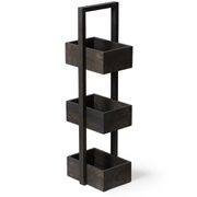 Wireworks Dark Oak 3-Tier Caddy