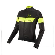Nalini Pink Label Women's Nemi Long Sleeve Jersey - Black/Yellow