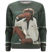 Lacoste Live Vintage Ads Women's Sweatshirt - Multi