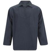 Armor Lux Men's Fisherman's Smock Sweatshirt - Navy