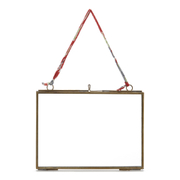 Nkuku Kiko Glass Frame - Antique Brass - Landscape 5