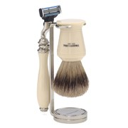 Truefitt & Hill Double Wire Razor and Brush Stand - Chrome