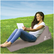 Escape Wicked Wedge Inflatable Lounger (Single) - Grey