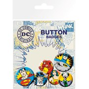 DC Comics Heroes and Villians - Badge Pack