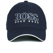 BOSS Green Men's Large Logo Cap - Navy