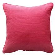 Ribbed Cushion - Hot Pink