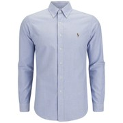 Polo Ralph Lauren Men's Slim Fit Oxford Shirt - Blue
