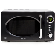 Akai A24006 Digital Microwave - Black - 700W