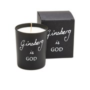 Bella Freud Ginsberg is God Candle - Black