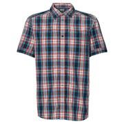 Jack Wolfskin Men's Fairford Checked Shirt - Bright Pumpkin