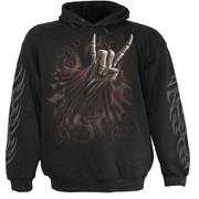 Spiral Men's ROCK SALUTE Hoody - Black