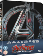 Avengers: Age of Ultron 3D (Inclusief 2D Versie) - Zavvi Exclusive Limited Edition Steelbook