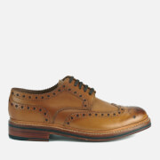 Grenson Men's Archie Leather Brogues - Tan Calf