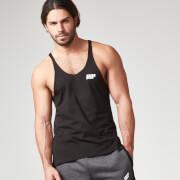 Myprotein Men's Longline Stringer Vest, Black
