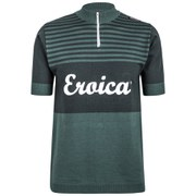 Santini Eroica Britannia 2015 Event Series Short Sleeve Jersey - Dark Green