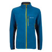 Sprayway Men's Orbit I.A. Zipped Fleece - Moroccan Blue/Graphite