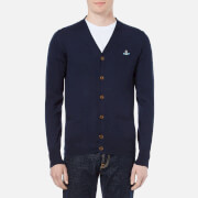 Vivienne Westwood MAN Men's Classic Knitted Cardigan - Navy