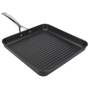 Le Creuset Toughened Non-Stick Ribbed Square Grill - 28cm